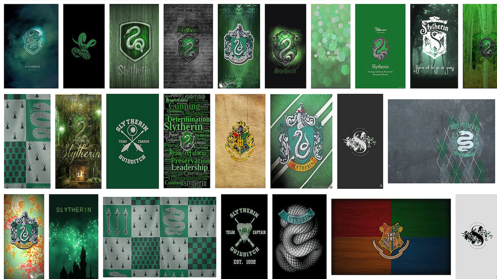 Slytherin Iphone Wallpaper Stock Hd