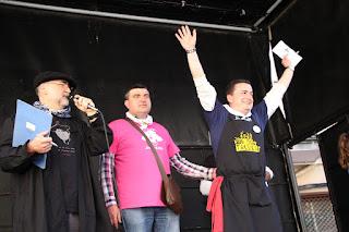 Concurso de pucheras en las fiestas de Lutxana