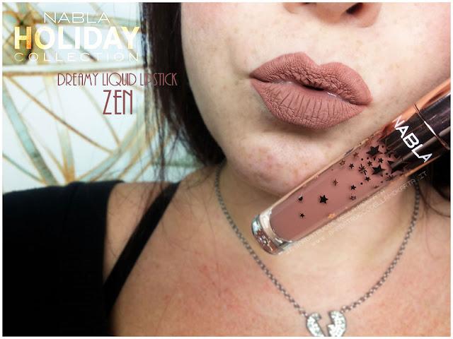 zen  liquid lipstick nabla rossetto liquido