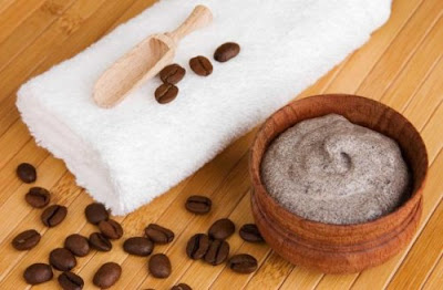 Pommade de café et du beurre de cacao