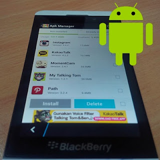 Terbaru ! Cara Install Aplikasi Android di HP BlackBerry