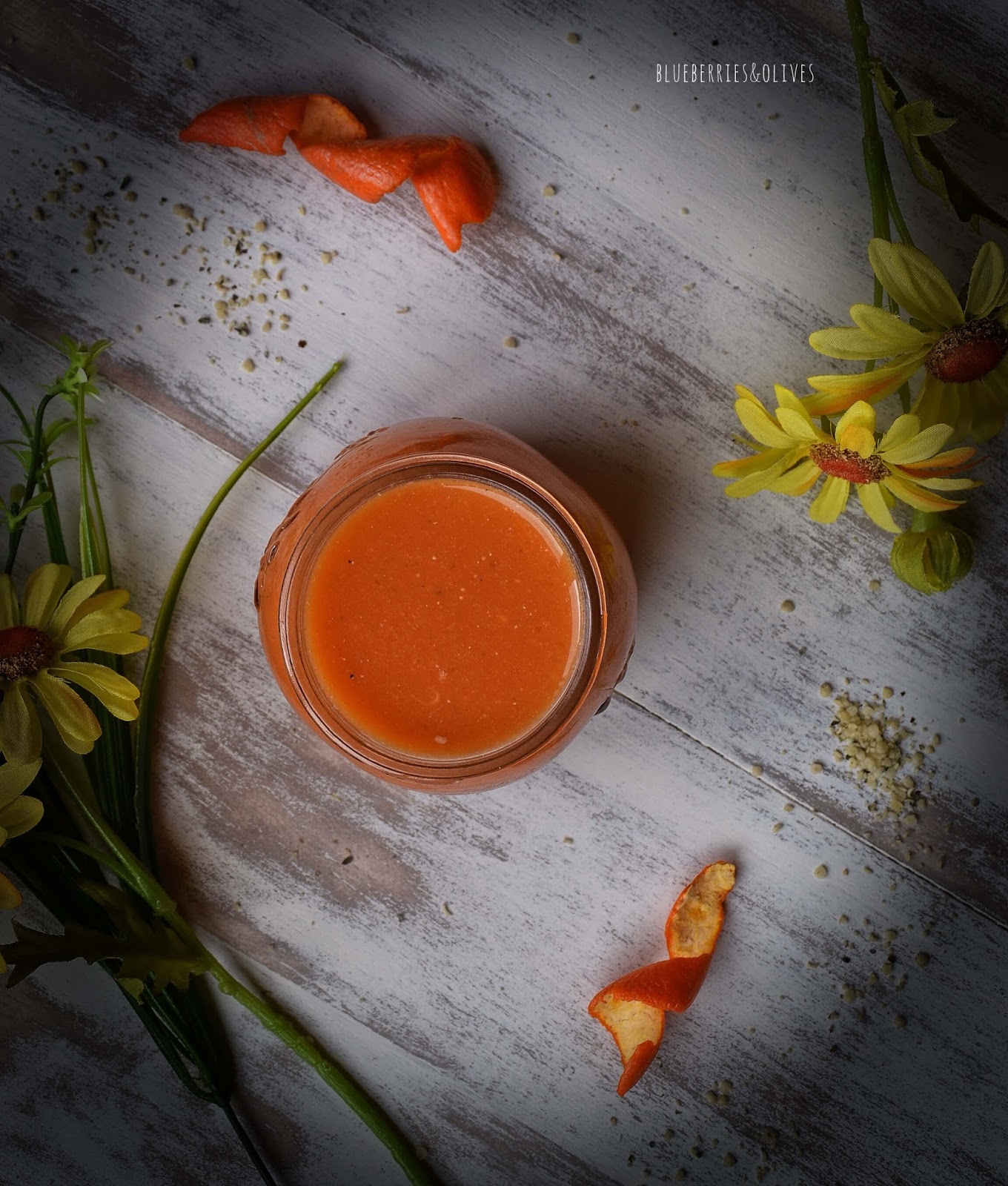 CITRUS, CARROT AND GINGER MULTIVITAMIN SMOOTHIE