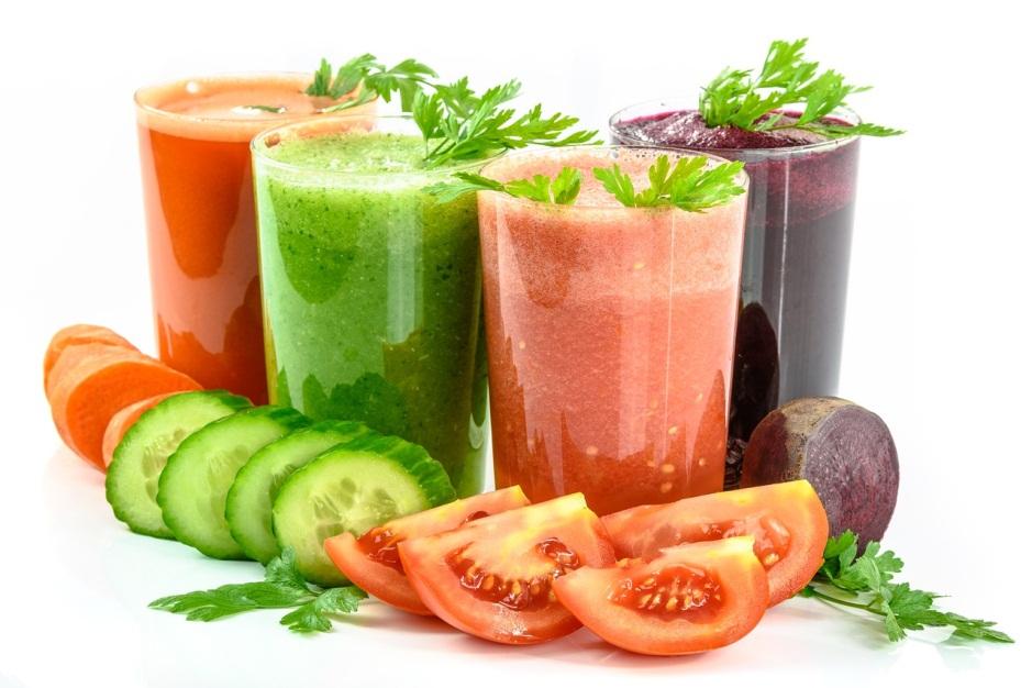 عصير الخضروات لحرق الدهون