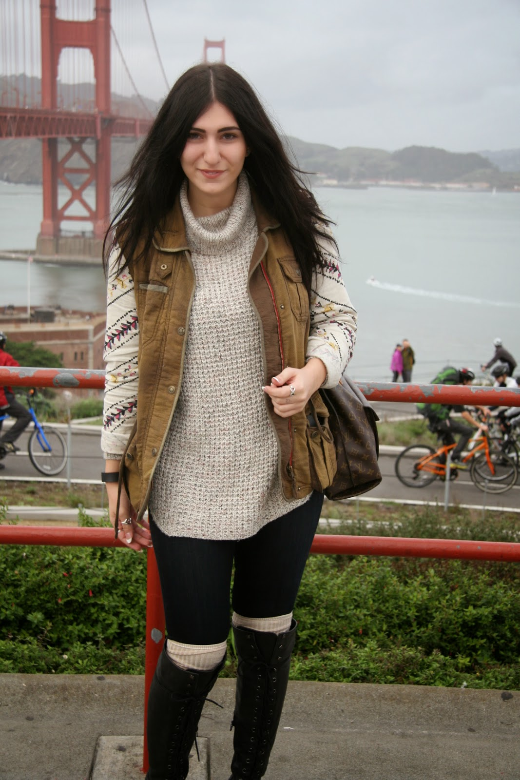 Check out out Tracy at The Right Shoes blog for more San Francisco style.  Gotta love heeled booties this season 08f699673