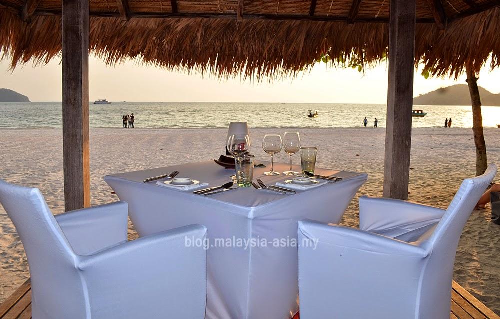 La Sal Restaurant Pantai Cenang, Langkawi