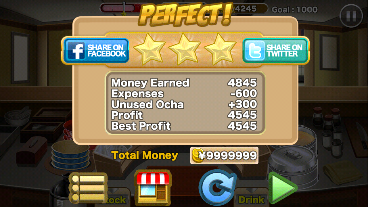 Ramen chain unlimited money android game moded free download
