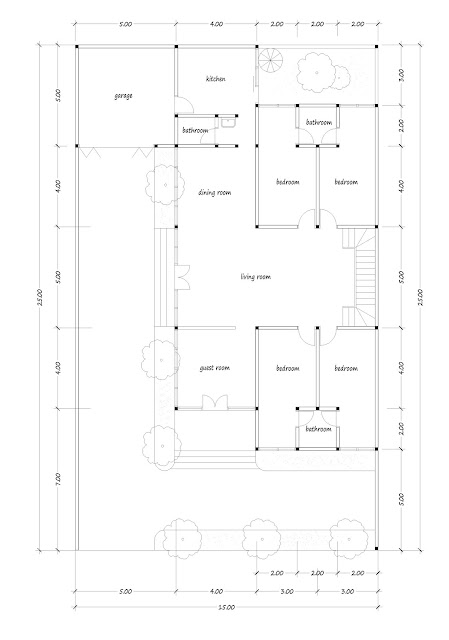 Luxury house plan 11