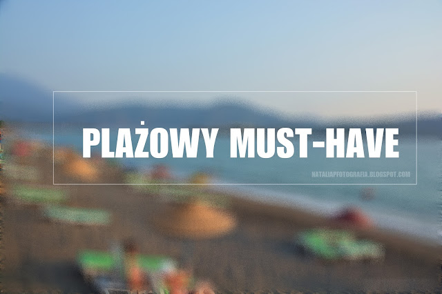 Plażowy must-have |
