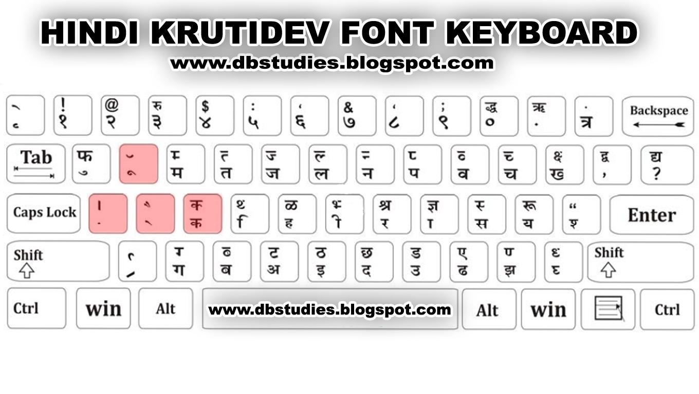 Hindi keyboard also font krutidev layout db studies rh dbstudiesspot