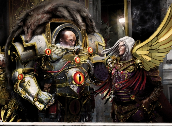 The Warmaster Horus Lupercal, Primarch of the Luna Wolves ...  The Warmaster H...