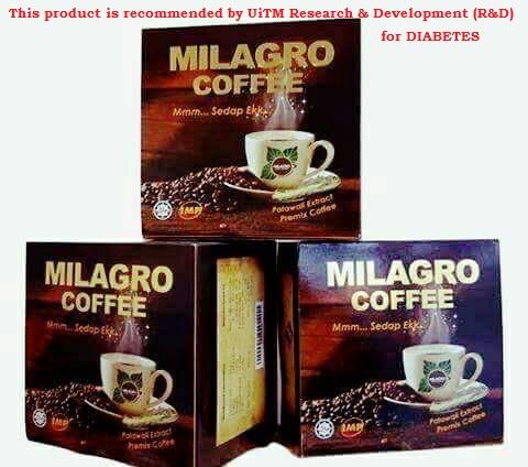 BETUL KE MILAGRO COFFEE KOPI PATAWALI PENAWAR KENCING MANIS & DARAH TINGGI?