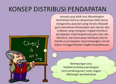 Indikator Distribusi Pendapatan