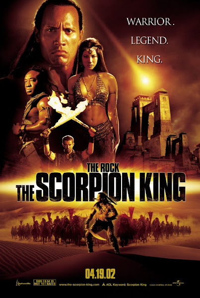 Poster of The Scorpion King 2002 Dual Audio 720p BluRay Full Movie ESubs Download