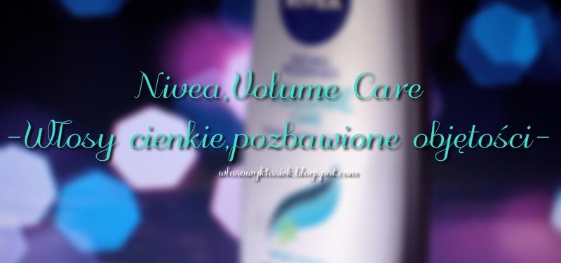 Recenzja #4 Odżywka Nivea Volume, a cienkie włosy