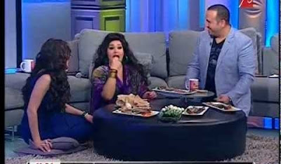 فيفي عبده تأكل الفسيخ