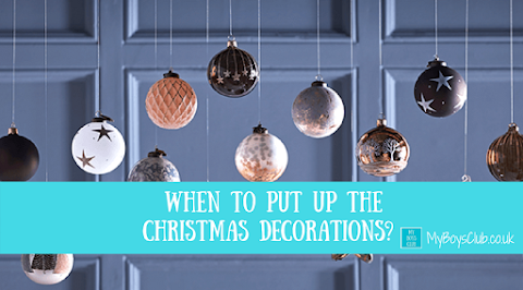 When to Put up the Christmas Decorations? (AD)