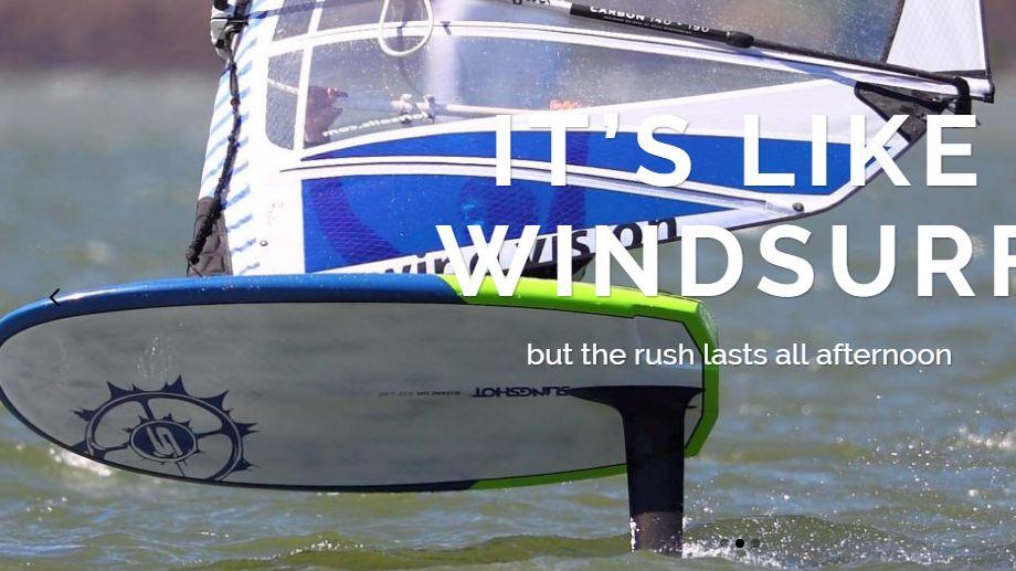 Phil's Windsurfing Blog: Foiling Post
