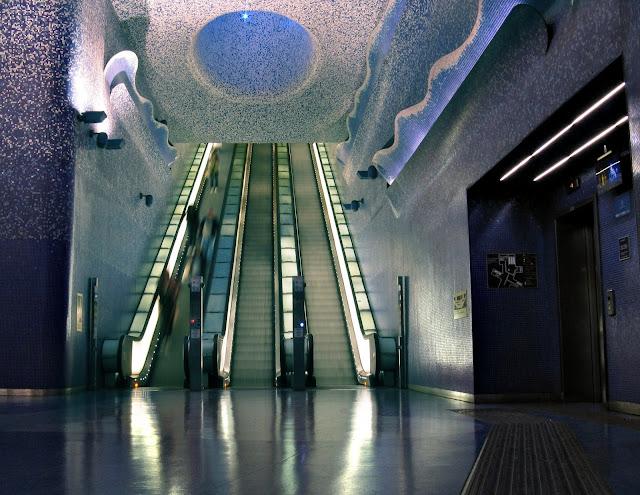 Stazione Metropolitana Linea 1 di Napoli Toledo