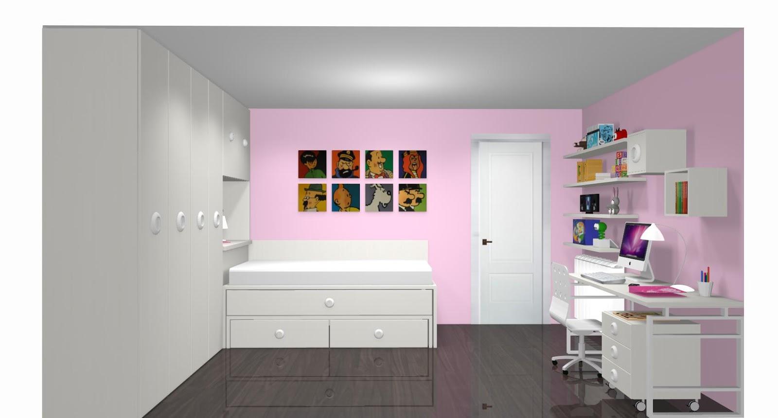 Dormitorios juveniles Habitaciones infantiles y mueble ...