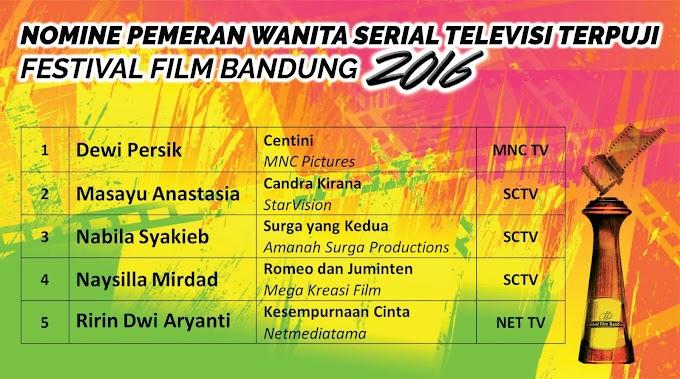 Daftar Lengkap Pemenang Festival Film Bandung Ke-29 Tahun 2016