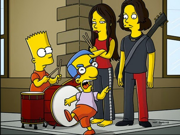 The White Stripes The Simpsons