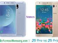 Samsung Galaxy J5 Pro vs J5 Prime Harga dan Spesifikasi
