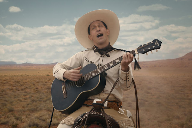 "Tim Blake Nelson in the Coen Brothers' ""Ballad of Buster Scruggs"""