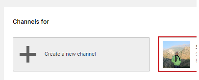 Create Youtube New Channel in 2016