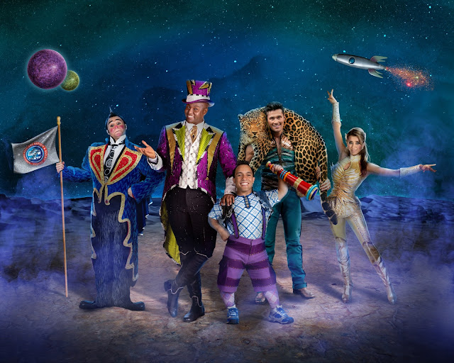 Ringling Bros. and Barnum & Bailey present #OutOfThisWorld in CLE!