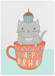 cat birthday wallpaper