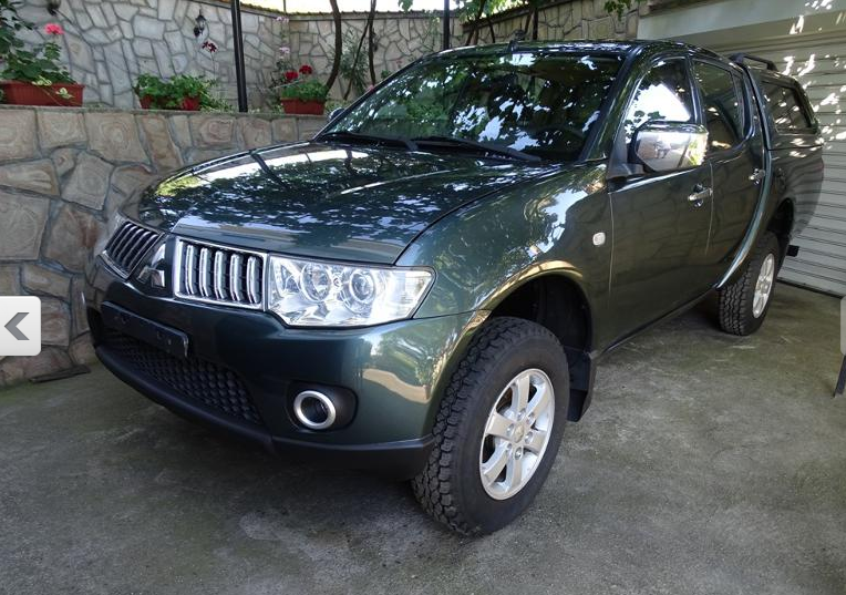 NEO Mitsubishi L200 2.5 DID , 136 HP , 02-2011  ,181.988KLM,  ΤΙΜΗ 15.300 €
