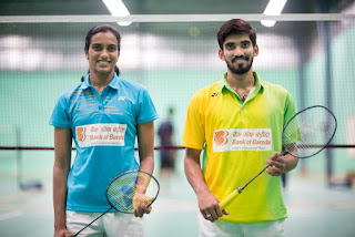 Bank of Baroda announces Brand Endorsement with ace Indian Badminton Players P V Sindhu & K Srikanth