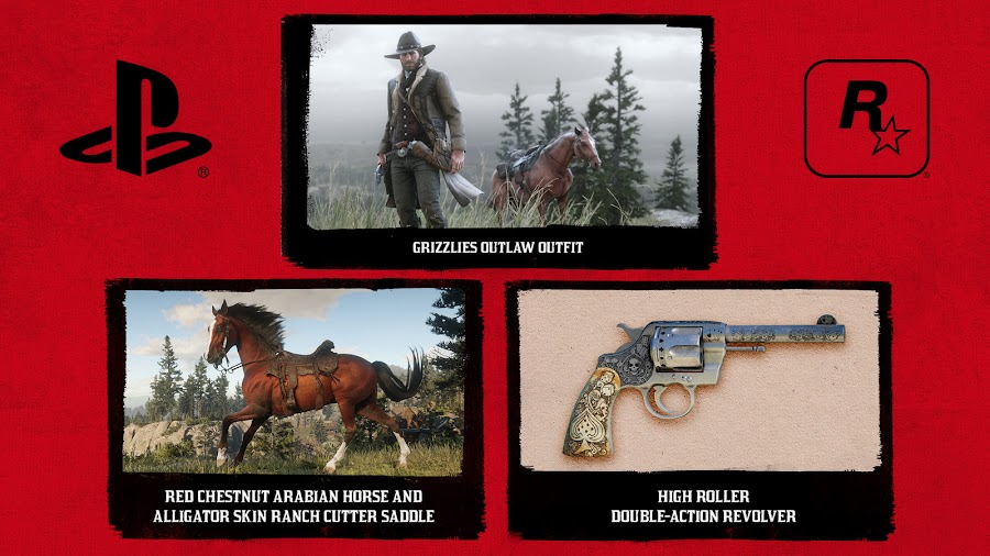 red dead redemption 2 rockstar games ps4 early access content