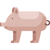 ICON-FLAT-SWINE-PIG-SAW