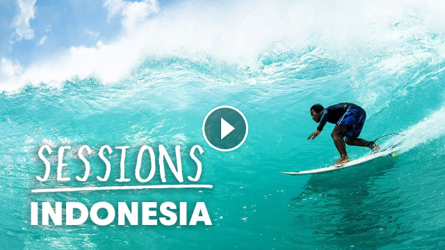 Billy Kemper And Mikala Jones Score Perfect Waves In Indonesia Sessions