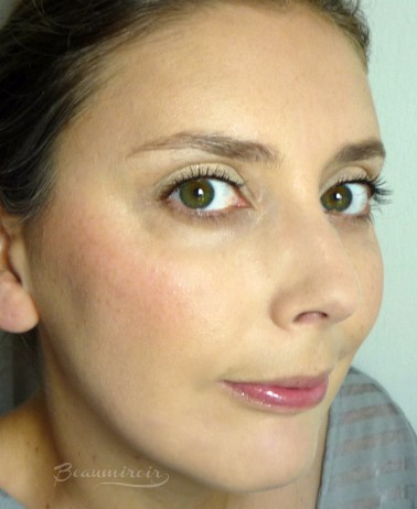Wearing Lancome Cushion Blush Subtil in Splash Orange - fotd, full face picture