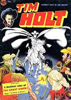 Tim Holt v1 #17 golden age western comic book cover art by Frank Frazetta