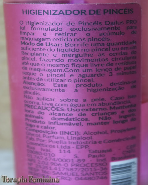 Higienizador de Pincéis Dailus Pro