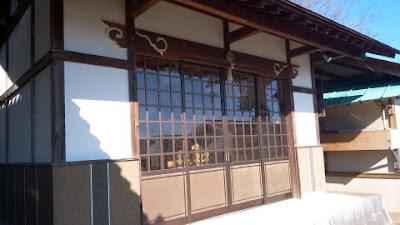 町田市図師の熊野神社 御神輿庫