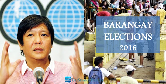 Bongbong Marcos pushes postponement of barangay elections