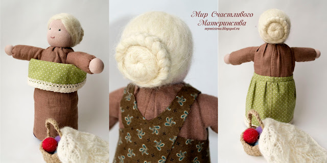 гардероб куклы столбушки