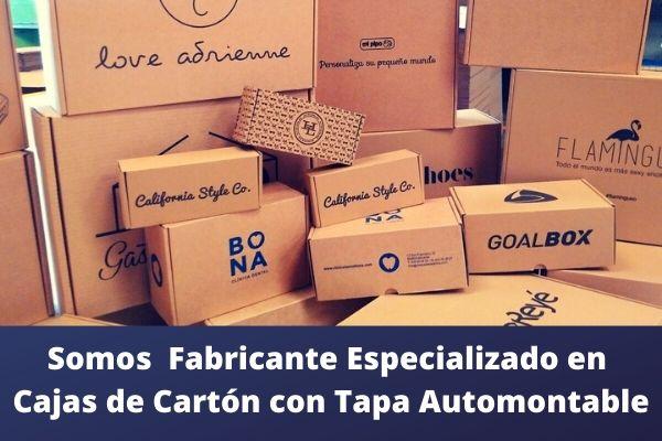 cajas de carton con tapa
