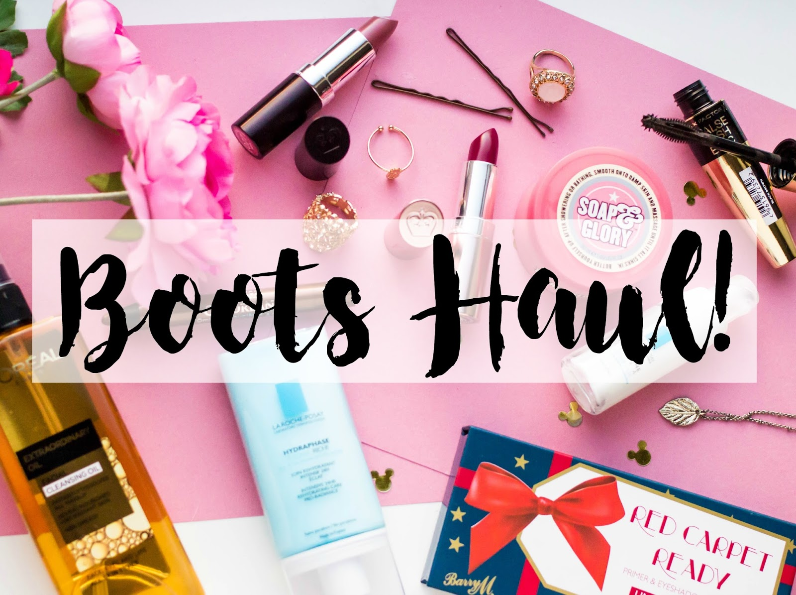 Boots Haul, beauty blogs, Katie Writes, Derbyshire-based bloggers,