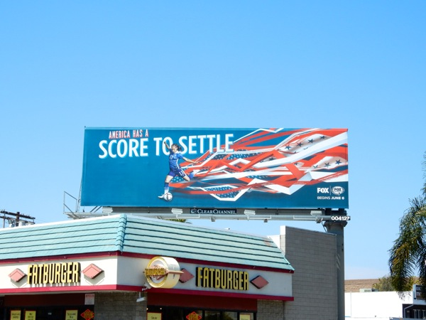 2015 Womens Soccer World Cup billboard