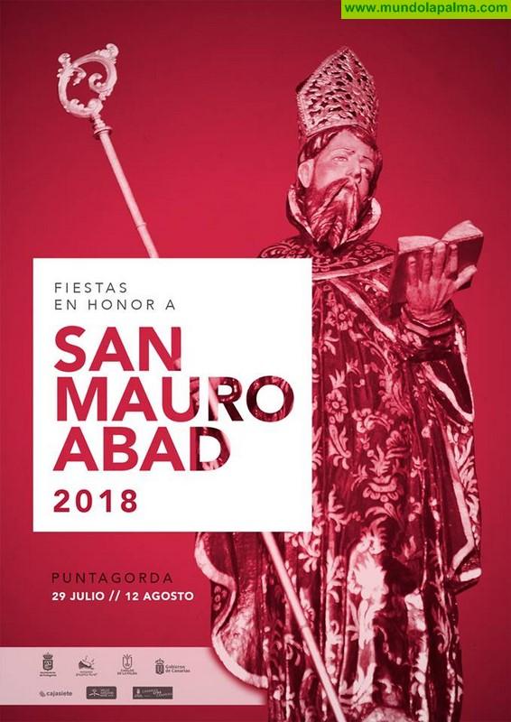 Programa de las Fiestas Patronales en Honor a San Mauro Abad 2018 en Puntagorda
