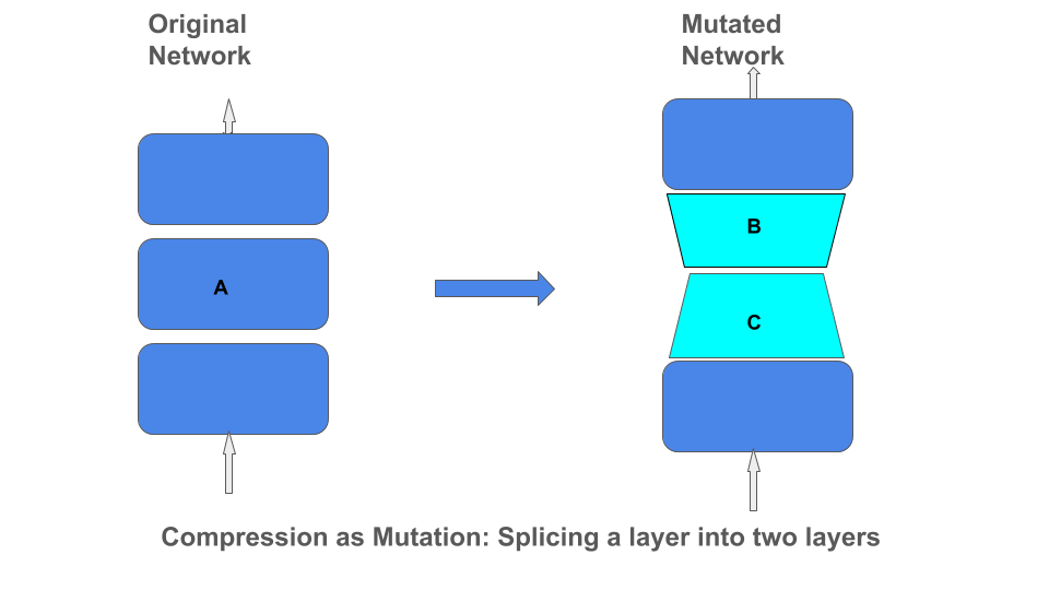 Compression as Mutation