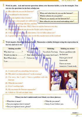 8. Sınıf İngilizce Tutku Yayınları Ders Kitabı Cevapları Sayfa 57