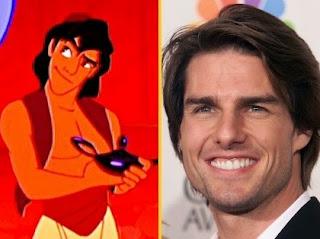 Tom Cruise, jadi inspirasi Aladdin