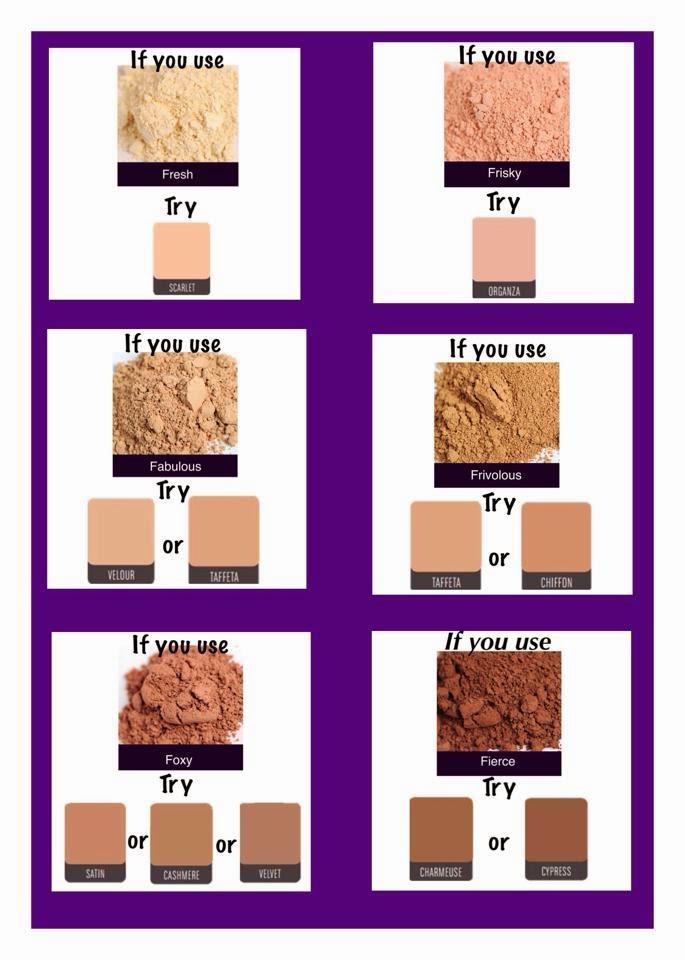 Younique Foundation Match Younique Foundation Color Matching Guide