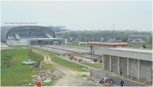 Kuala Namu International Airport, 39 KM dari Kota Medan